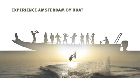 Experience Amsterdam by boat
